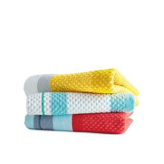 Towels by Scholten & Baijings for Hay, $80 each   Cheery, textured textiles for the beach or poolside designed by the impresarios of pastel, Dutch design duo Stefan Scholten and Carole Baijings.