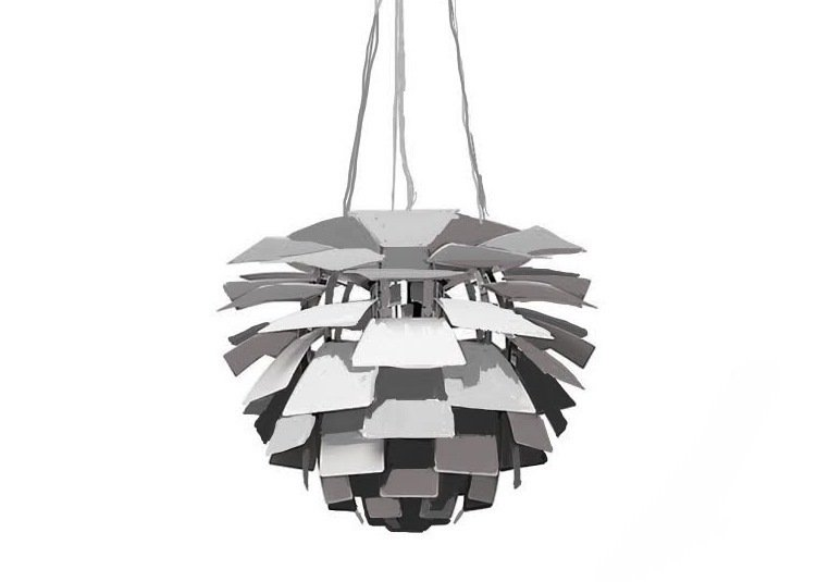Produced by Louis Poulson, the light has become a fixture in many museums, concert halls, and homes.  Photo 1 of 7 in The Lighting Fixture That Inspired A High-Stakes Heist: The PH Artichoke