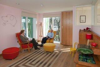 Nottingham sitting room. Architect: Piers Gogh, CZWG Architects. © Martine Hamilton Knight.