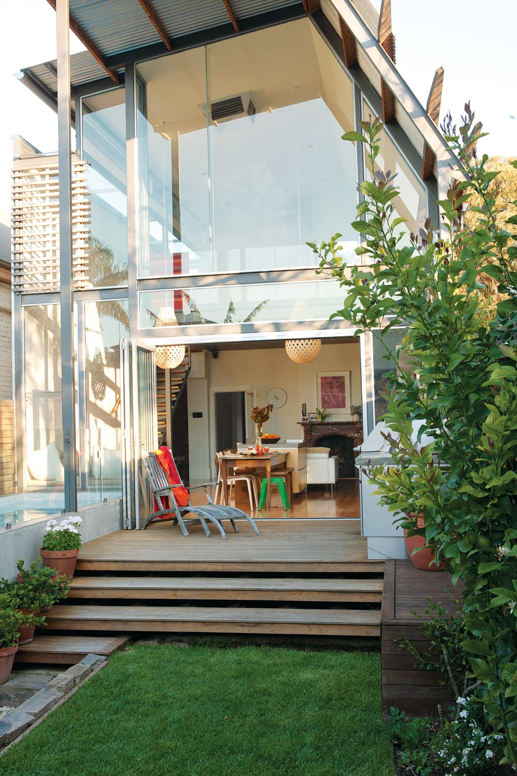 Australia modern renovation backyard