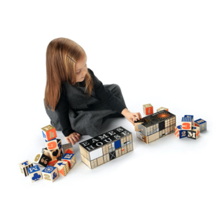 Eames House Blocks will give any child an early education in design.