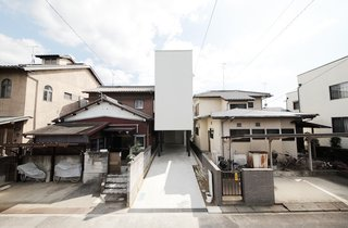 Minimal Home on a Narrow Plot in Japan