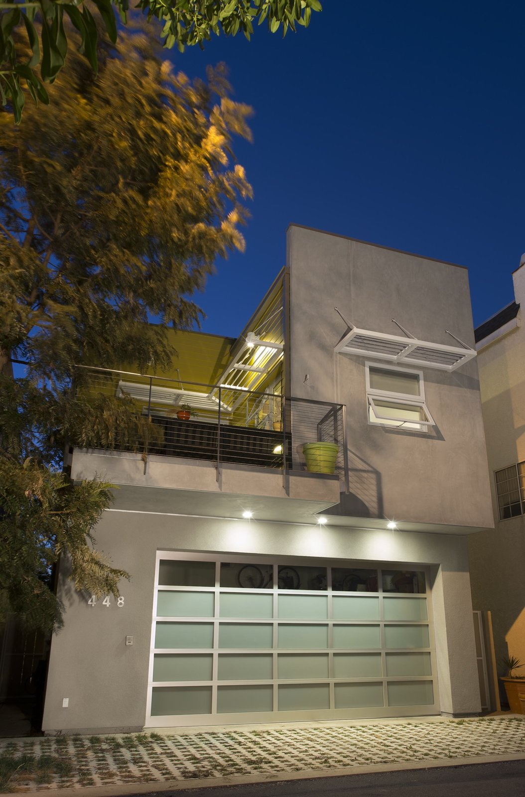 """Photo by Ken Pagliaro Photography.  Green from A Sustainable """"Case Study"""" House in California"""