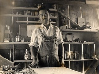 5. George Nakashima in his workshop