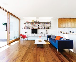 Teaming up with architect Craig Steely, an industrial designer and a mechanical engineer find just the right design for a striking home on a San Francisco hill. Photo by Ian Allen.