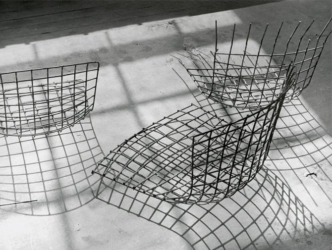 Photo 2 of 9 in Design Classic: Bertoia Seating Collection