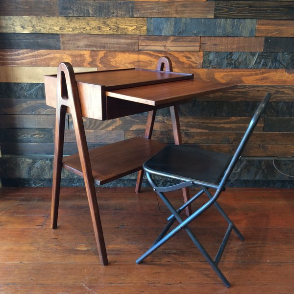 """Berry Street Side Table  This entire collection features rich wood tones (this piece is mahogany), and is both versatile and affordable. It's """"attainable but still has a lot of class,"""" says Ponce de Leon."""