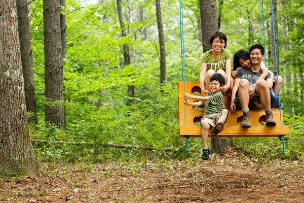 Swingtones Project  Designer Taewook Cha and his family.  Image Credit: Juan Ude