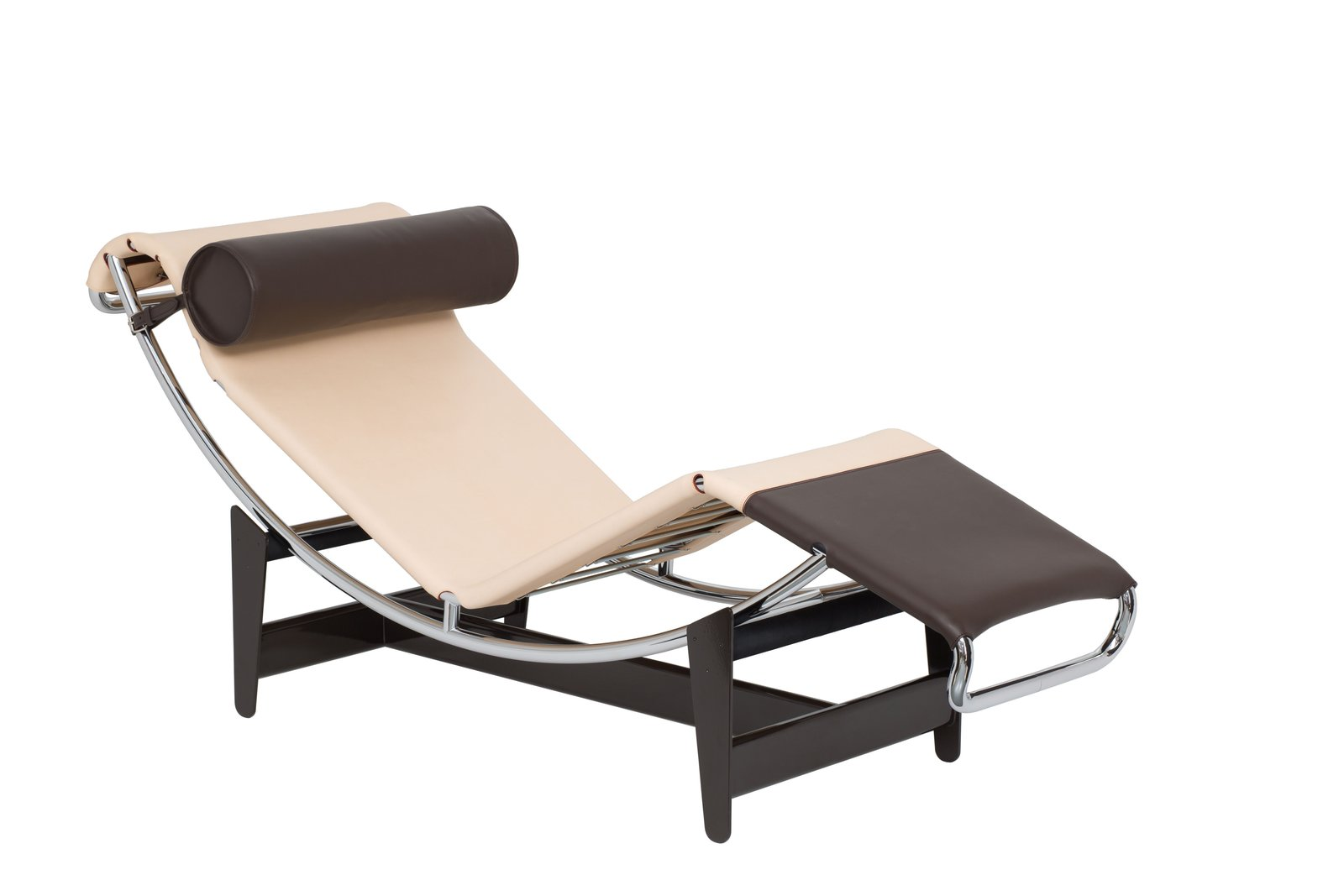 """The limited-edition LC4 CP chaise longue, based on Perriand's original LC4, indtroduced in 1928. It features a self-supporting mattress attached directly to its frame. Le Corbusier dubbed the original LC4 the """"relaxing machine"""" becuase of the way it reflected the natural human form for maximum comfort. Image courtesy of Cassina.  Photo 5 of 6 in Eye on Design: Charlotte Perriand"""