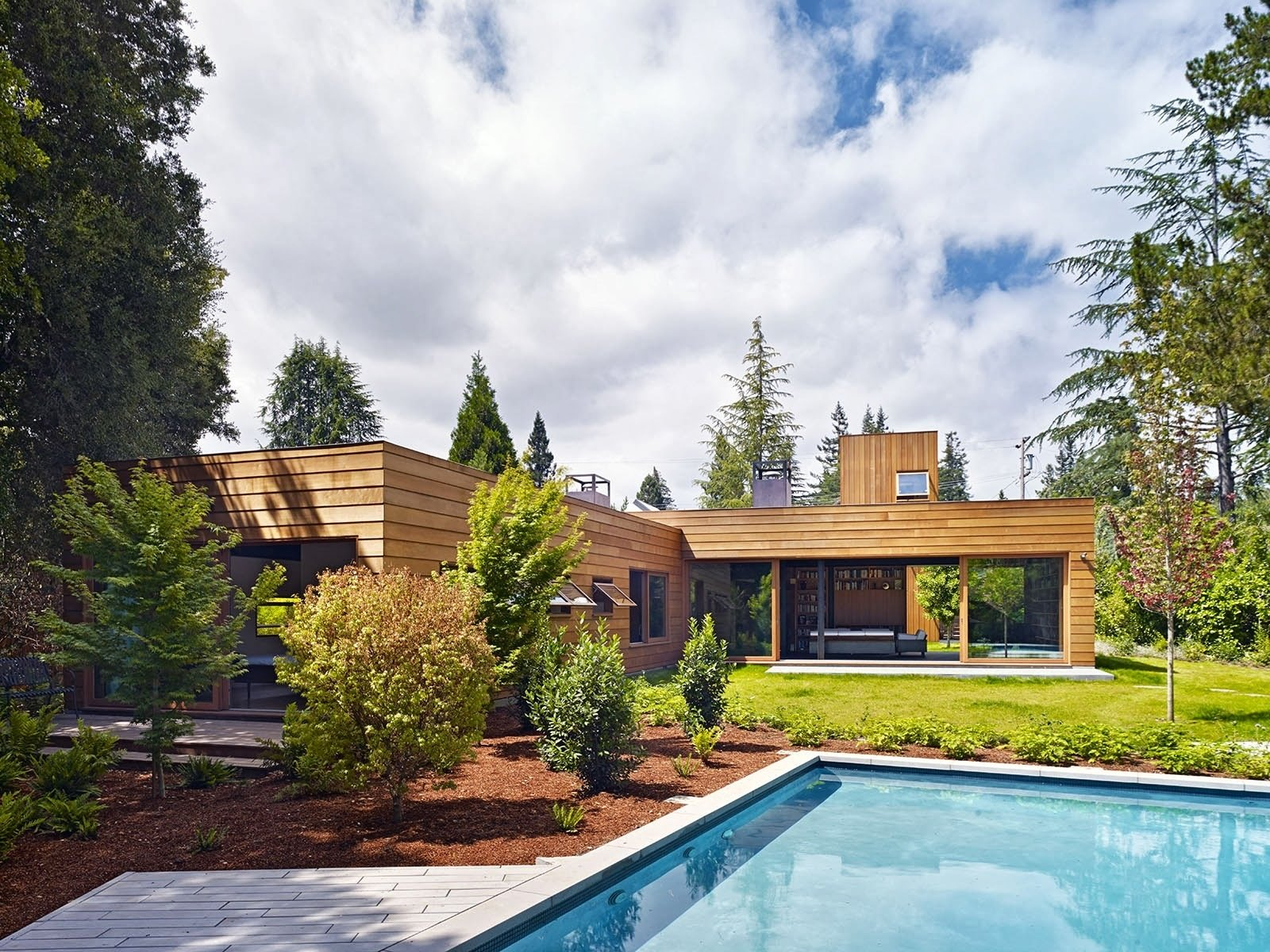 silicon valley smart home spiegel aihara workshop exterior pool