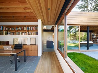 The relationship between interior and exterior becomes crucial in the articulation of the residence.