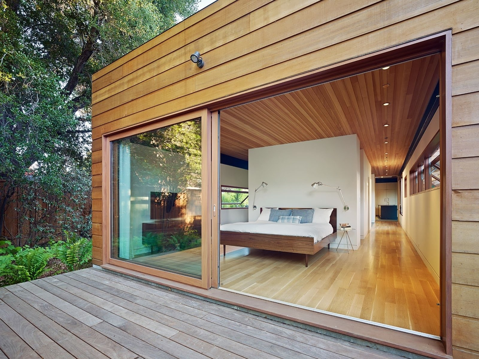 silicon valley smart home spiegel aihara workshop bedroom and deck