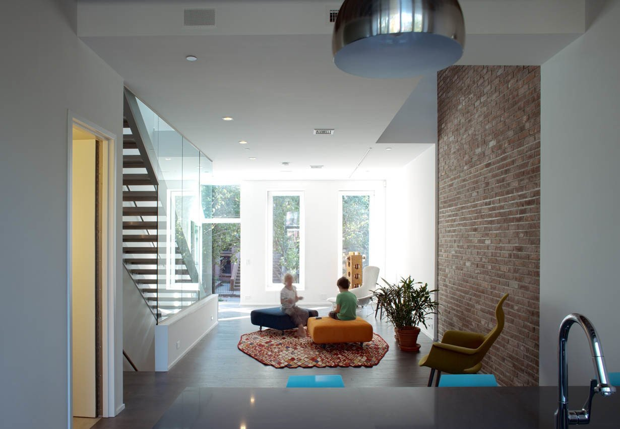"""A 3,120-square-foot 19th-century brownstone building in Park Slope, Brooklyn—the first certified Passive House in New York City—was one of three finalists in the retrofits category. Fabrica718, an environmentally focused Brooklyn design practice, renovated the house starting in 2009.  Search """"our scandinavian style dreams come true brooklyn town house"""" from Passivhaus Institut Announces 2014 Finalists"""