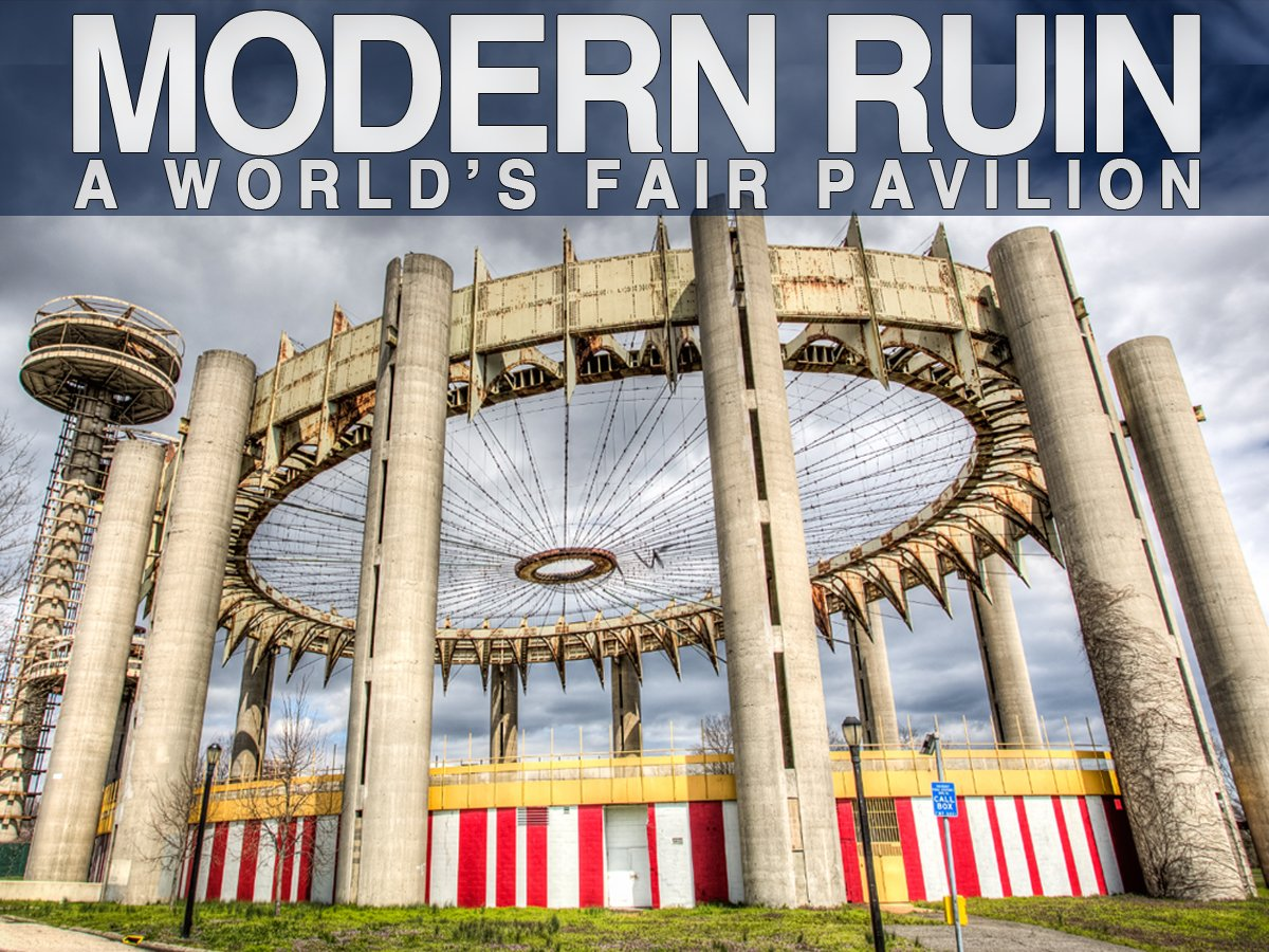 Matthew Silva's film Modern Ruin  Filmmaker and advocate Matthew Silva is working to get the 1964 New York Pavilion, designed by modernist icon Philip Johnson, restored.  Photo 1 of 6 in World's Fair Pavilion: Restoring the Tent of Tomorrow