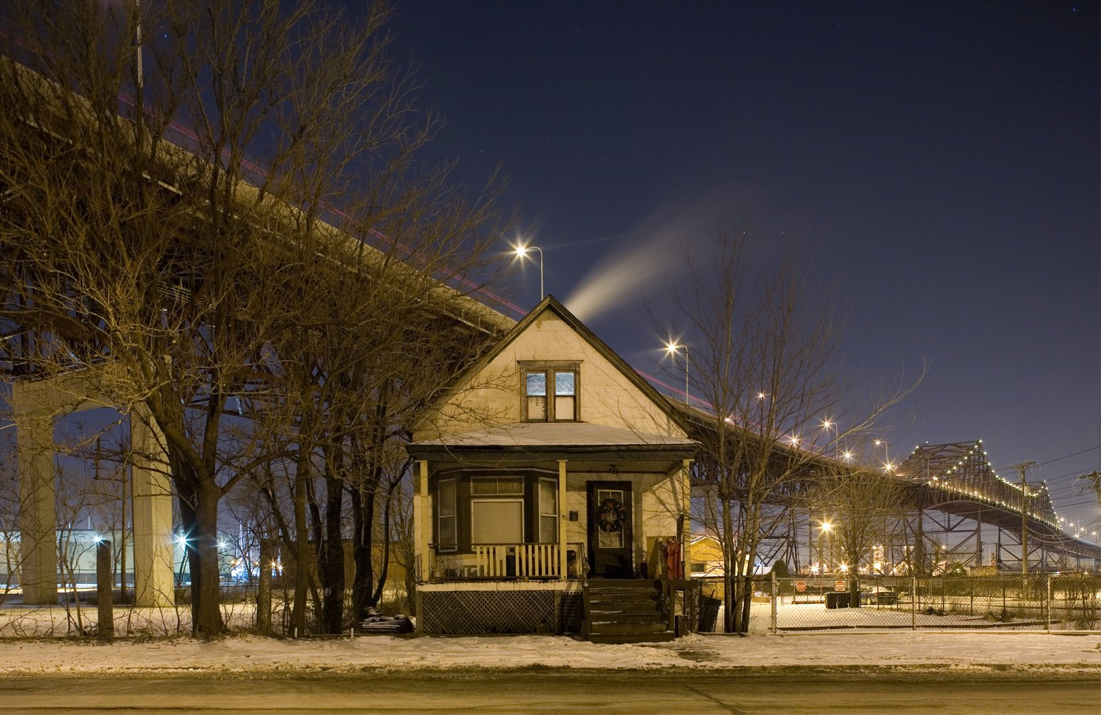 Isolated Building Studies: East Side  What started as a way to get his bearings, and learn about the neighborhoods around him has informed his photos projects and given him a lens to view other urban environments.  Photo 5 of 9 in Photos of the Day: Isolated Building Studies