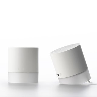 The Sound1 Speakers are a small audio solution that Dad can take on the go. Created by Korean design house cloudandco for 11+, the speakers combine minimalist styling with the freedom of wireless listening. The speakers deliver clear, crisp stereo sound throughout the room and pair with Bluetooth-enabled portable devices and computers.