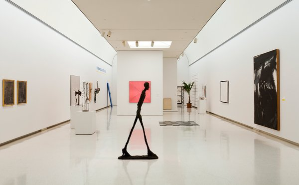 """Scaife galleries at Carnegie Museum of Art  """"In one of this country's great art museums, the Scaife galleries were an addition in 1979 designed by Edward Larrabee Barnes,"""" Moss says. """"The front entry plaza includes a classic Richard Serra steel sculpture."""" Photo by Tom Little."""