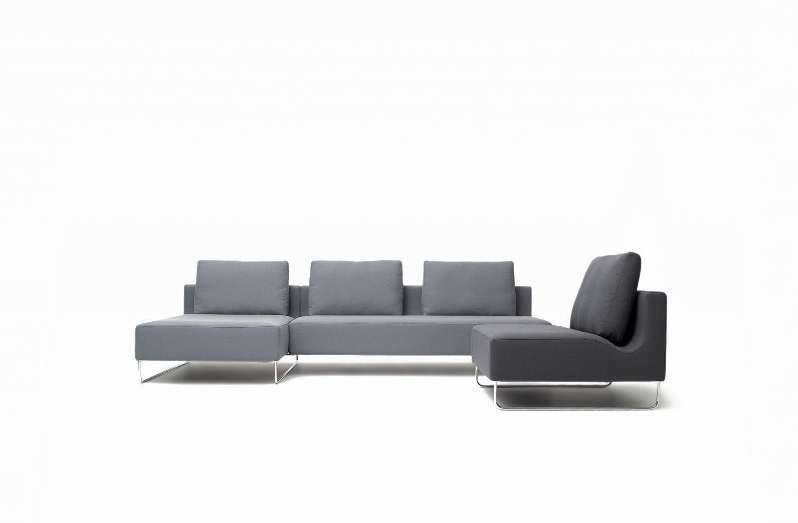 "Canyon Sofa by Niels Bendtsen for Bensen  ""In this case he used a simple, pared-down, rectilinear form, and you can see the dip where the bolster is, goes around the perimeter of the sofa. It's such a simple gesture, and it rendered it absolutely and completely unique. That sofa came out the year we opened. We were one of the first stores that carried it 11 years ago. It still looks fresh and modern, and still has something interesting about it.""  Photo 6 of 11 in Shops We Love: Propeller Modern"