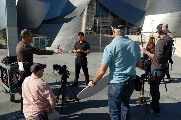 """Cool Spaces at the Disney Center  """"With our show, you can see the place on television, then actually go there,"""" says Stephen Chung, host of Cool Space. """"Buildings aren't the stars, it's about the people."""""""