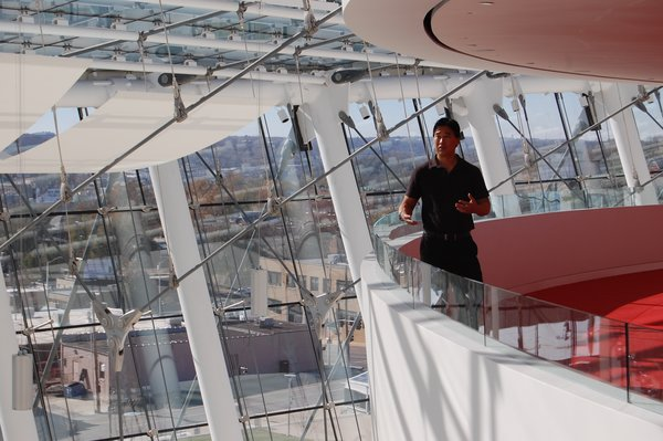 Cool Spaces at the Kauffman Center  The first episode on performance spaces, which is rolling out on network across the country explored Dallas Cowboys Stadium, Kauffman Center for the Performing Arts and Barclays Center with the architects and designers.