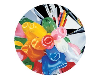 Tulips Plate by Jeff Koons, $475, at momastore.org  Bring Pop Art's contemporary master to the table with a limited-edition plate from French porcelain-maker Bernardaud inspired by the artist's Celebration series.