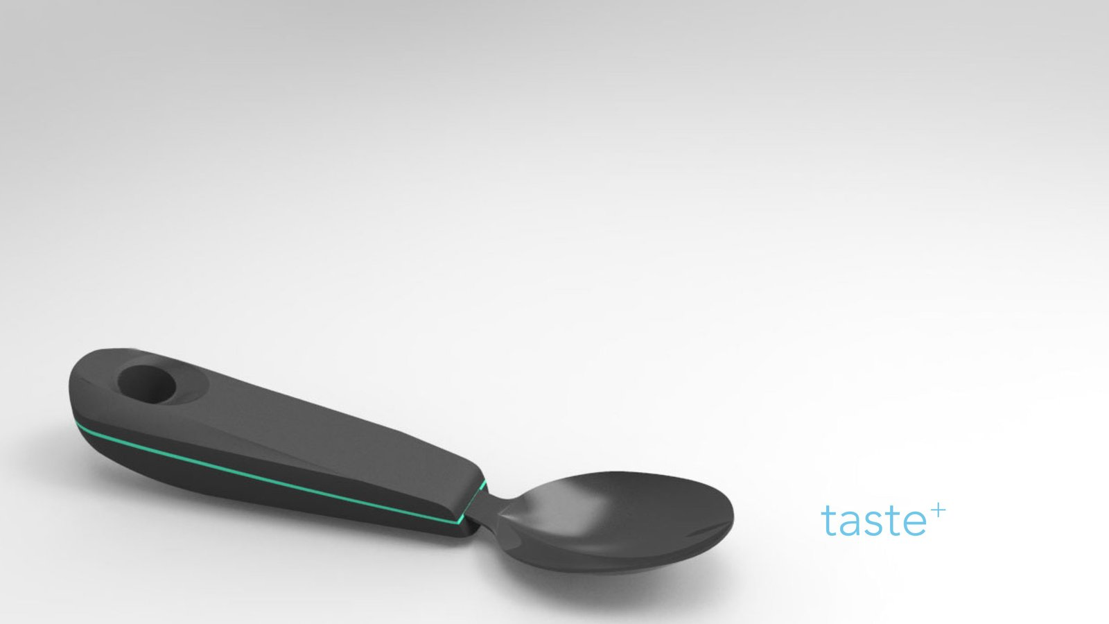 """The """"Taste+"""" spoon, designed by the Keio-NUS CUTE Center at the National University of Singapore, electrically stimulates taste buds to improve eating for individuals with diminished taste sensation.  Photo 3 of 5 in Designs for patients with dementia"""