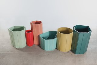 Contemporary Tables and Vases Join the East and the West