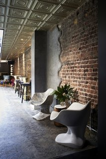 Lush Interiors for London's Elite New Design Club