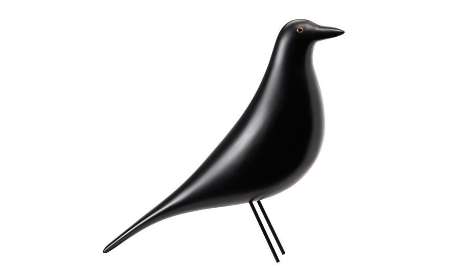 The Eames House Bird is made of solid alder with a black lacquer finish and steel wire legs. Image courtesy of Vitra.  Photo 2 of 6 in Design Classic: Eames House Bird