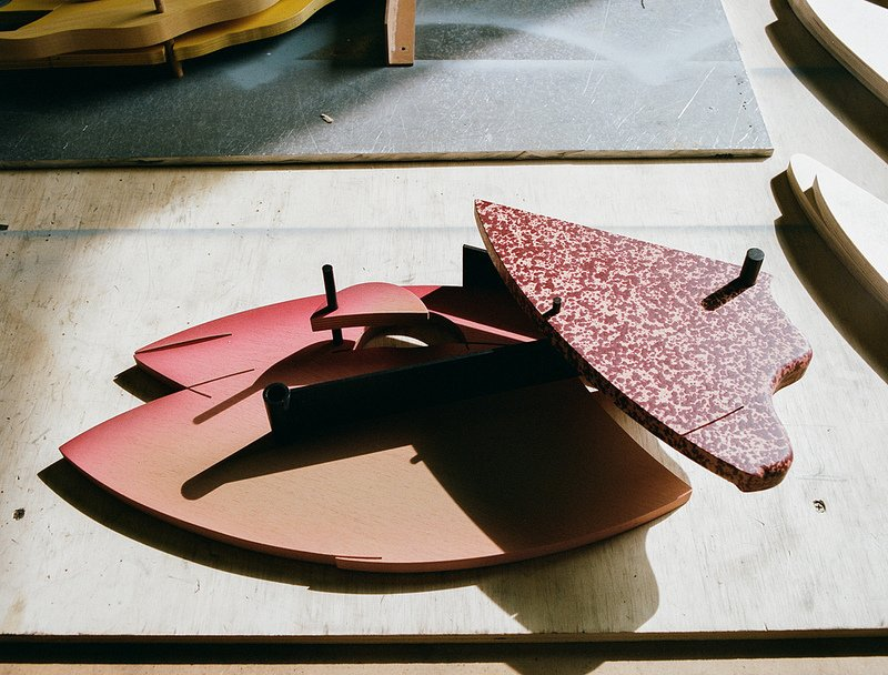 """Ferry says of Paweski, """"Matt speaks a distinctive visual language that is manifested in his wood & metal-based sculptures.""""  Photo 6 of 9 in Artist to Watch: Matt Paweski"""