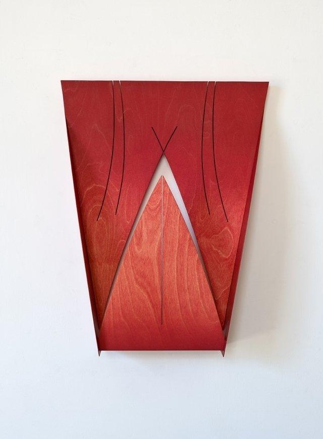 Matt Paweski's Chapel, 2013. Birch plywood, steel, enamel, copper rivets, and wax. Image courtesy of the artist and Herald St, London.  Photo 7 of 9 in Artist to Watch: Matt Paweski