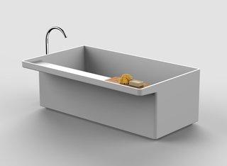 LucidiPevere's new Canal Grande bathtub for Agape.
