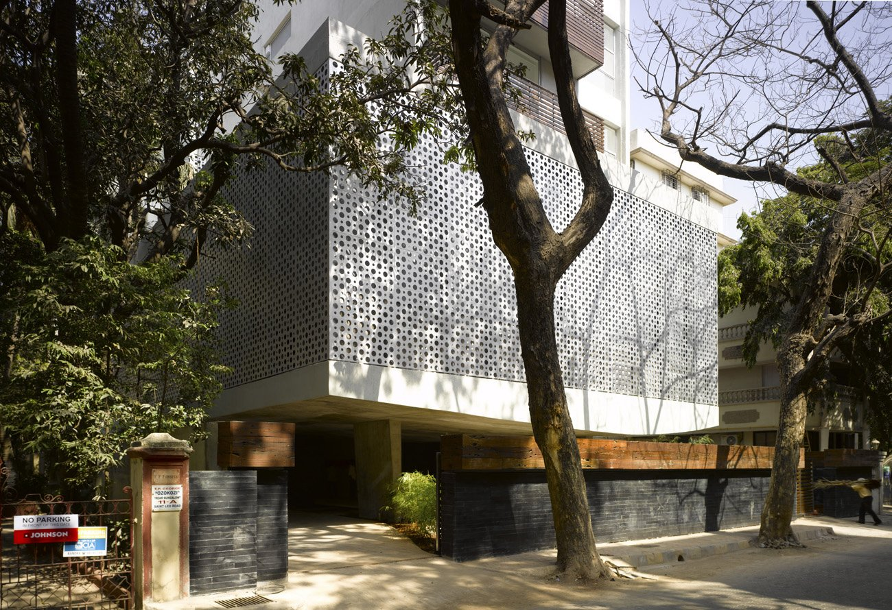 Go Perforated! These Are the Perfect Facades for Privacy and Lots of Natural Light