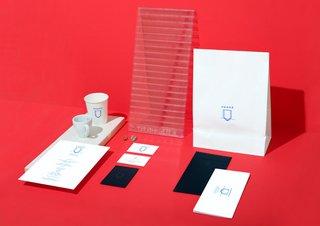 Honor Coffee's branding was designed by Studio Dessuant Bone.
