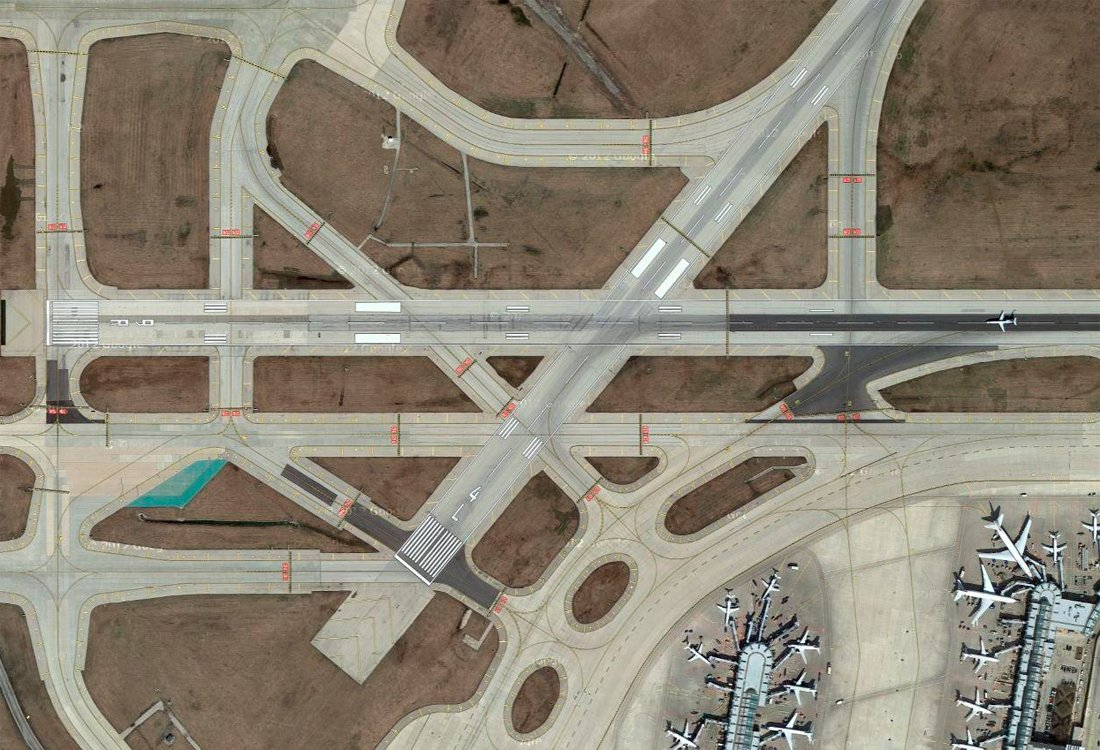 Holding Pattern, a Tumblr devoted to aerial shots of airports, showcases their industrial beauty.  Links We Love May 2, 2014 by Olivia Martin