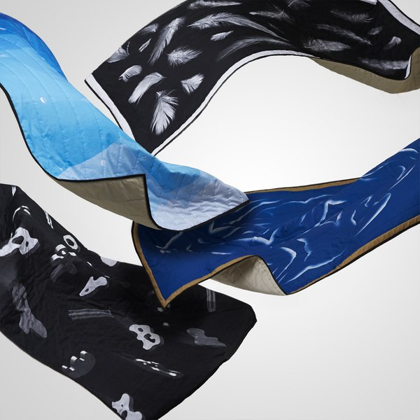 Blankets by Bork   The Rejkjavik collective of graphic designers wanted to create objects, and bring something more physical and tangible into the world.  Photos courtesy of Bork