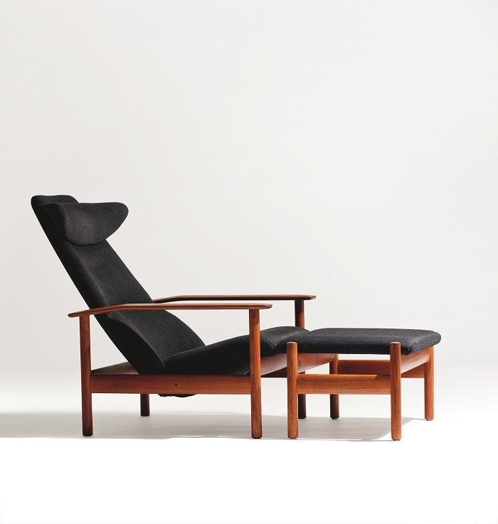 1001 Reclining Chair by Sven Ivar Dysthe  Photo by Blomqvist for Norwegian Icons  100+ Best Modern Seating Designs from Rediscovering Icons of Norwegian Design