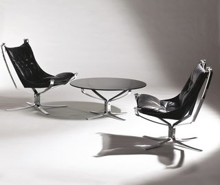 Falcon Chair by Sigurd Resell  Photo by Blomqvist for Norwegian Icons