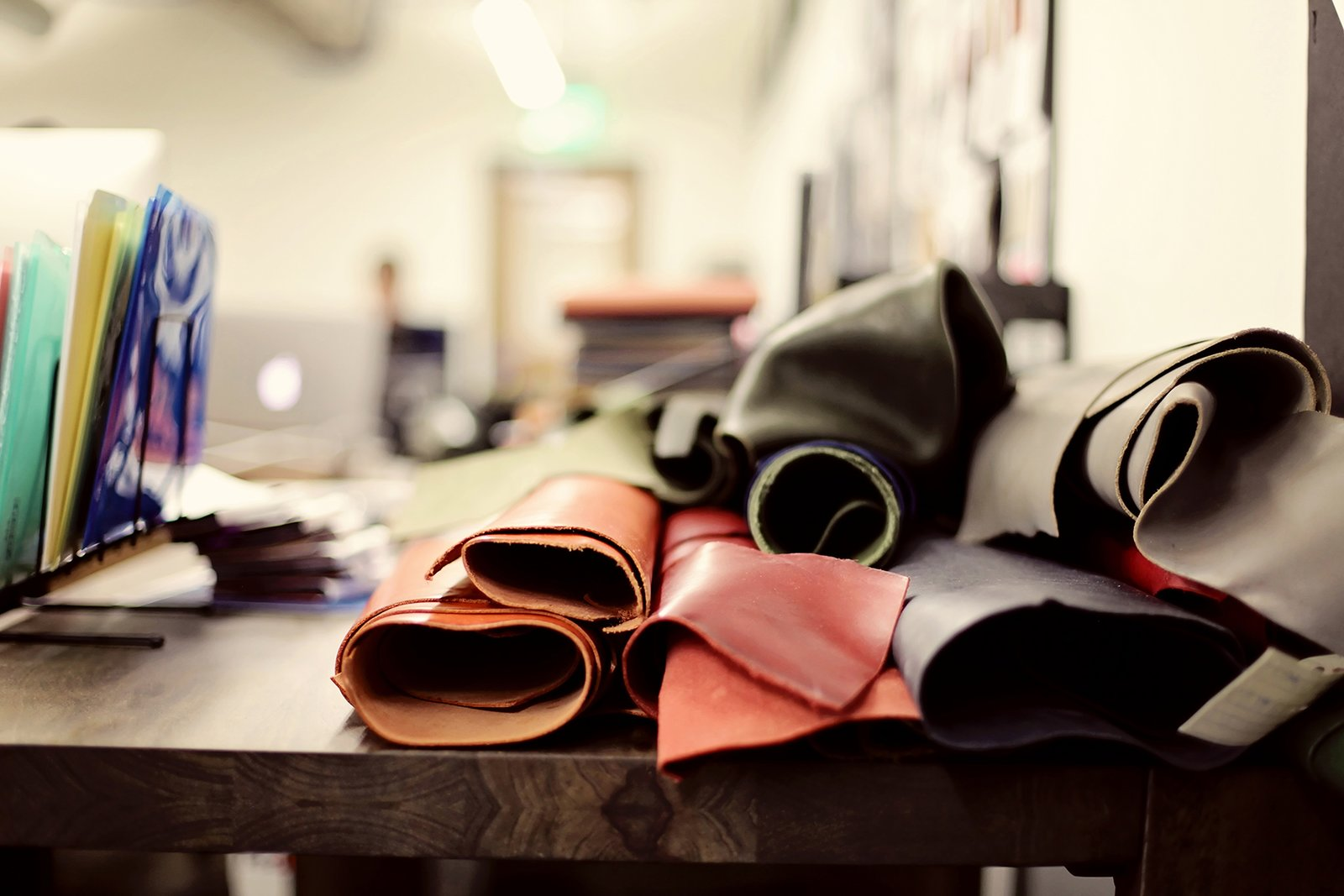 Shinola has expanded its space in Detroit's Argonaut Building to include leather manufactuirng. The company sources most of its raw materials from tanneries in Chicago, Maine, and Pennsylvania. Photo courtesy of Shinola.  Photo 1 of 6 in Shinola Expands its Detroit Manufacturing Space