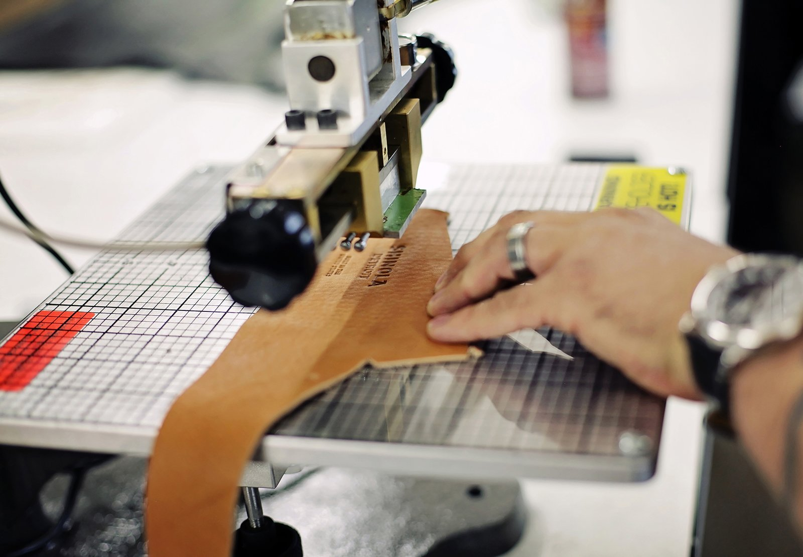 Italian company Galli S.P.A. custom made the machinery in the 12,000-square-foot workshop based on specifications needed to produce Shinola's designs. Photo courtesy of Shinola.  Photo 2 of 6 in Shinola Expands its Detroit Manufacturing Space