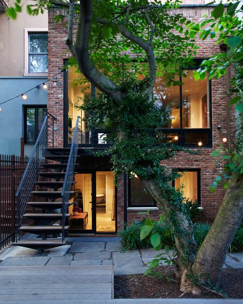 Modern Brooklyn Row House Renovation Collection Of 7