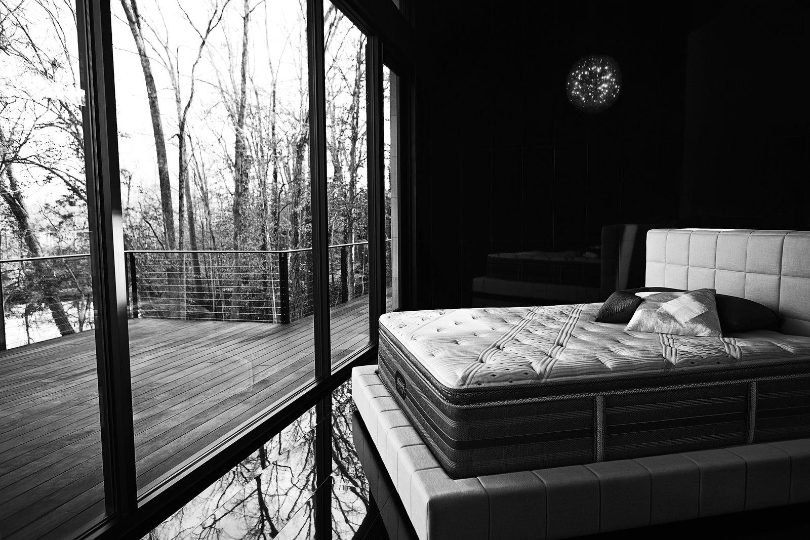 Beautyrest black mattress in situ.  Photo 1 of 3 in Sleep: The Ultimate Luxury