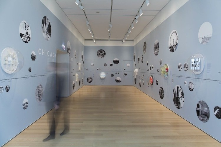 A new exhibit by architectural theorist Alexander Eisenschmidt and art historian Jonathan Mekinda explores proposals to inject more creative energy into Chicago architecture.  Photo 1 of 2 in Chicagoisms: The City as Catalyst for Architectural Speculation