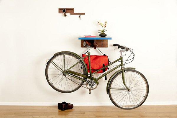 Smart Attractive Ways to Store Your Bike Indoors