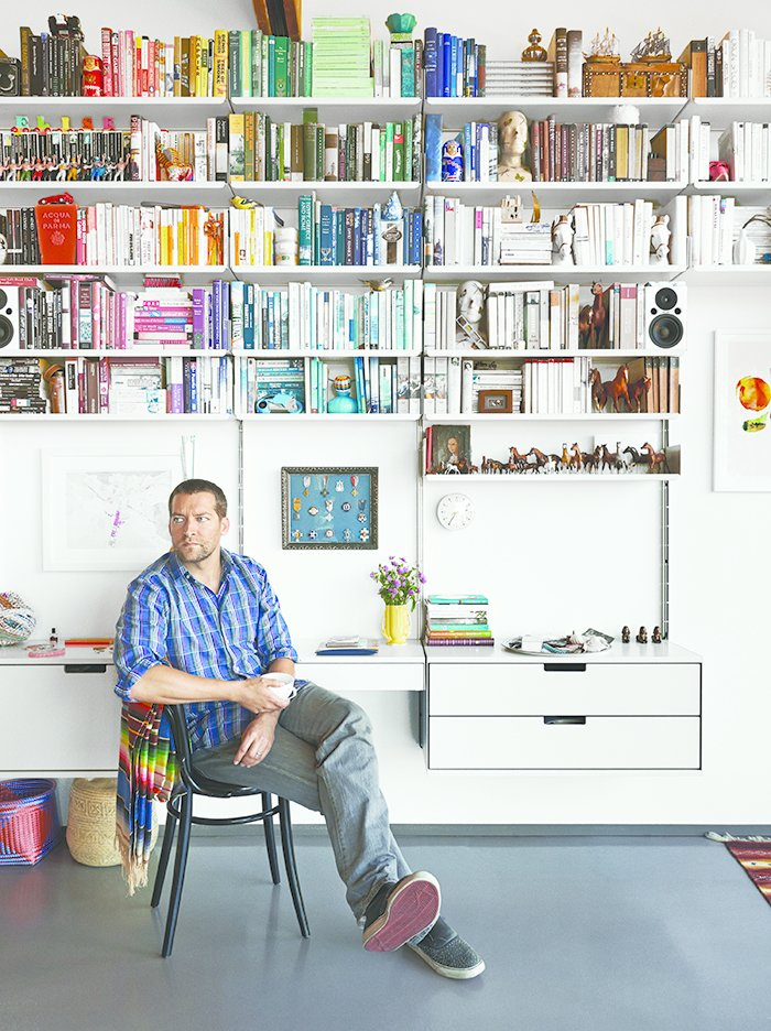 Rob Fissmer of the furniture company Vitsœ lives with his wife in a restored, A. Quincy Jones-designed house in Crestwood Hills. (Get a full tour of the space here!)  Photo 6 of 6 in Ask the Expert: Gift-Buying Tips from Rob Fissmer of Vitsœ