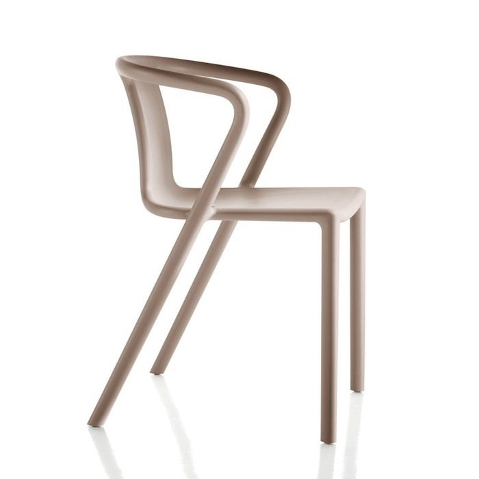 Deceptively straightforward, Morrison's Air Chair, a playful, mass-produced design classic in air moulded polypropylene and glass fibre, has incredible range for such a seemingly simple piece.  Photo 8 of 12 in Design Icon: 10 Works by Jasper Morrison