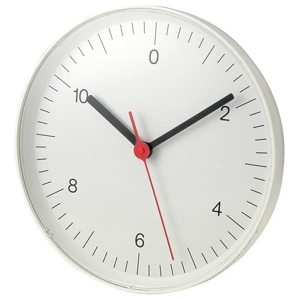 Muji Wall Clock (2005)  It's fitting the Morison would team up with the Japanese brand famous worldwide for its understated, minimal design. In addition to creating projects such as this wall clock, he also co-authored a book for Rizzoli offering a glimpse at the company's products and philosophy.