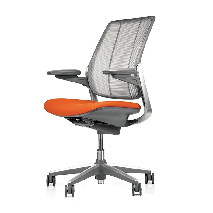 """""""Look for five key adjustments. Some chairs have more; some have less,"""" says Burn. """"These five should accommodate 95% of the population: seat height, seat depth, backrest and lumbar support height, and armrest height."""" Diffrient Smart chair by Niels Diffrient for Humanscale, from $1,310. Check out more smart furniture here.  Photo 1 of 5 in How to Shop for an Ergonomic Task Chair"""