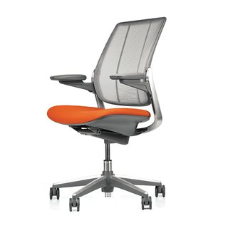 """Look for five key adjustments. Some chairs have more; some have less,"" says Burn. ""These five should accommodate 95% of the population: seat height, seat depth, backrest and lumbar support height, and armrest height."" Diffrient Smart chair by Niels Diffrient for Humanscale, from $1,310. Check out more smart furniture here."