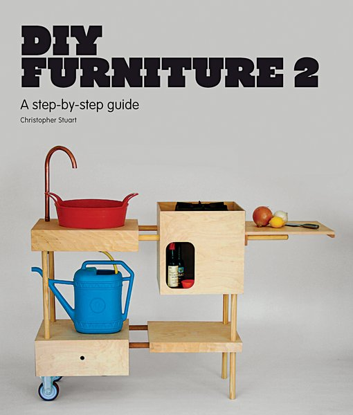 DIY Furniture 2, a follow-up to DIY Furniture, showcases how to make unique designer furniture using readily available materials commonly found at the local hardware store. Picture courtesy of Laurence King Publishing.